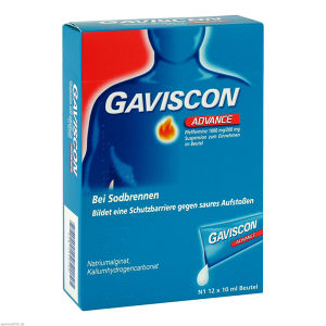 Gaviscon Advance Pfefferminz
